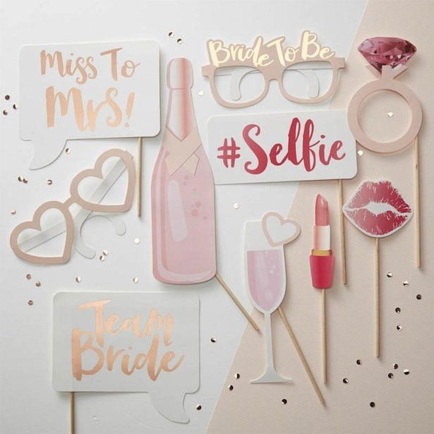 Bachelorette Party Ideas -Photo Booth Props