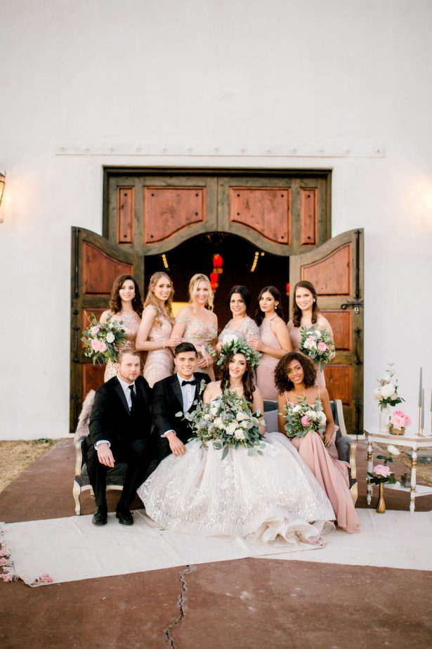 Bohemian Black Tie Wedding - Sparrow and Gold Photography