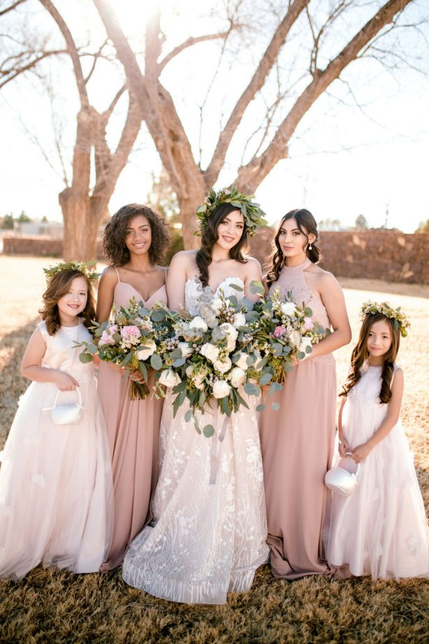 Bohemian Bridal Party - Sparrow and Gold Photography