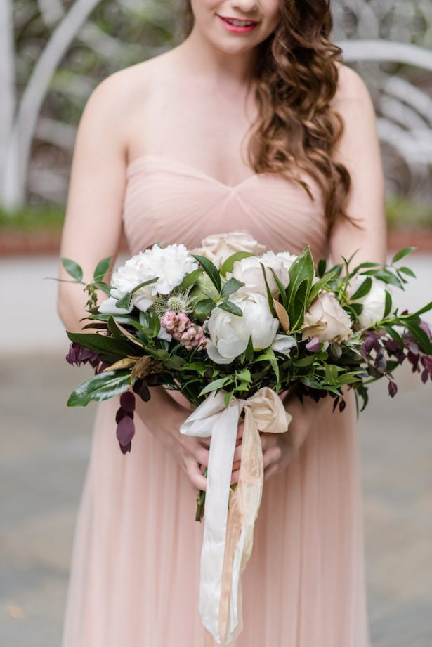 Bold and Romantic Bridesmaid Bouquet - KVC Photography