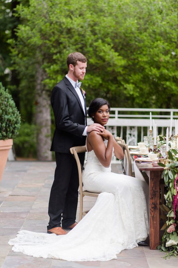 Bold and Romantic Historic Atlanta Wedding Inspiration - KVC Photography