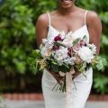 Bold and Romantic Wedding Bouquet - KVC Photography