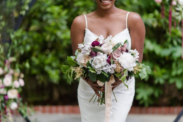 Bold and Romantic Wedding Inspiration in Historic Atlanta