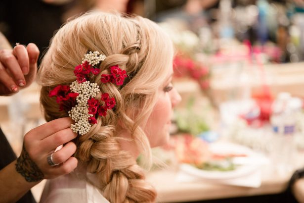 Briad Bridal Hairstyle - Eva Rieb Photography