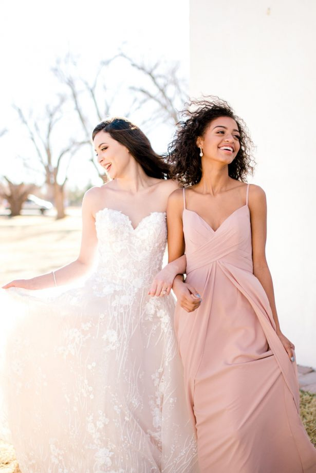 Bride and bridesmaid dresses - Sparrow and Gold Photography
