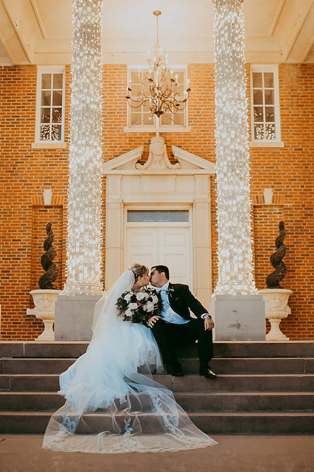 Burgundy and gold wedding - Ashley Layden Photography