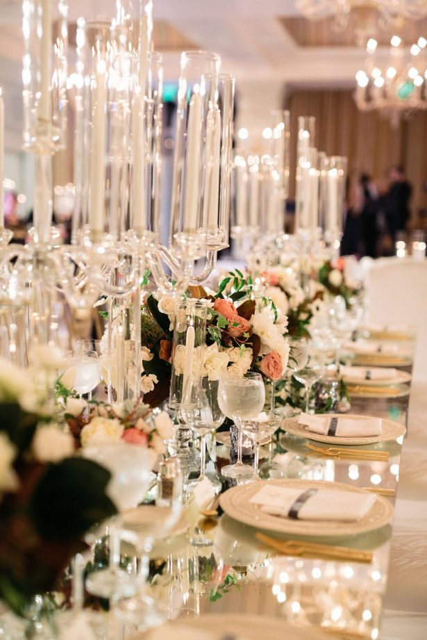 Classic Luxe Wedding Tablescape - Jana Williams Photography