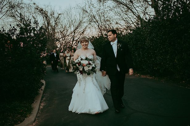 Gold and burgundy wedding - Ashley Layden Photography