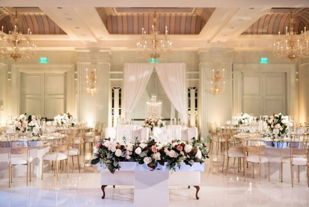 A Classic Luxe Wedding Dripping with Glamour and Gold Details