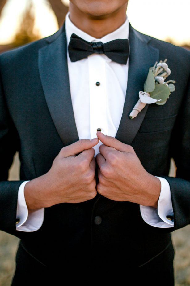 Groom tuxedo - Sparrow and Gold Photography