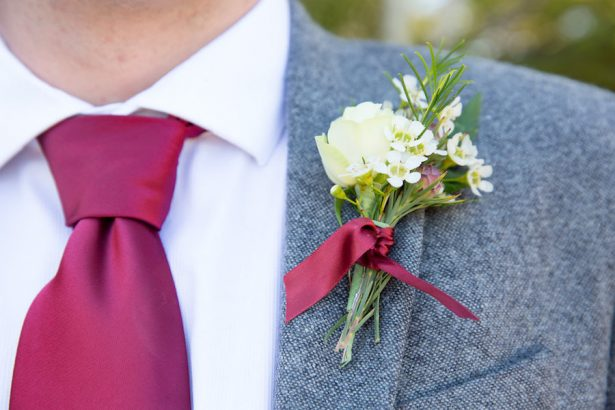 Groom's boutonniere - Eva Rieb Photography