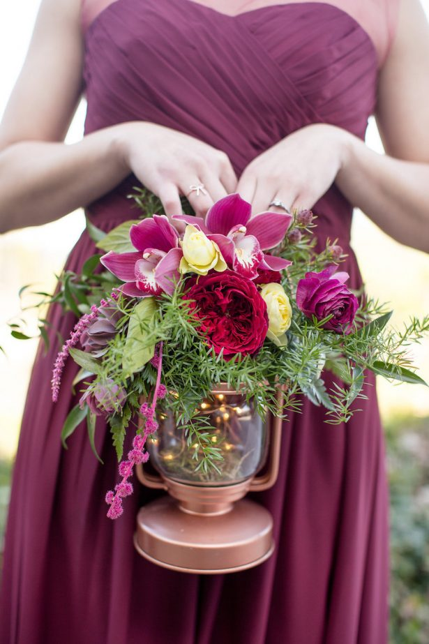 Lantern wedding bouquet - Eva Rieb Photography
