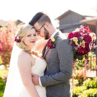 Maroon wedding - Eva Rieb Photography