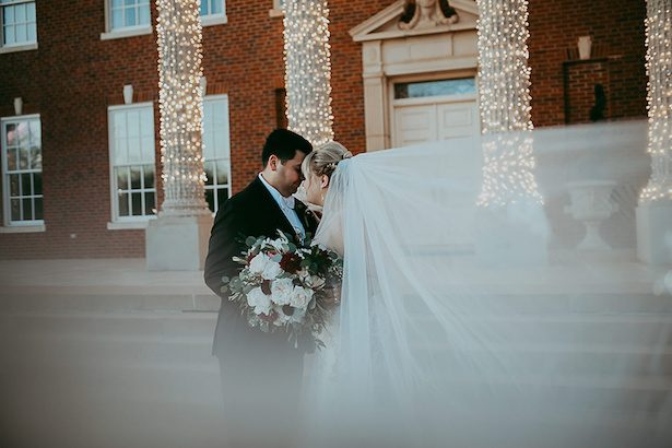 Moody wedding photo - Ashley Layden Photography