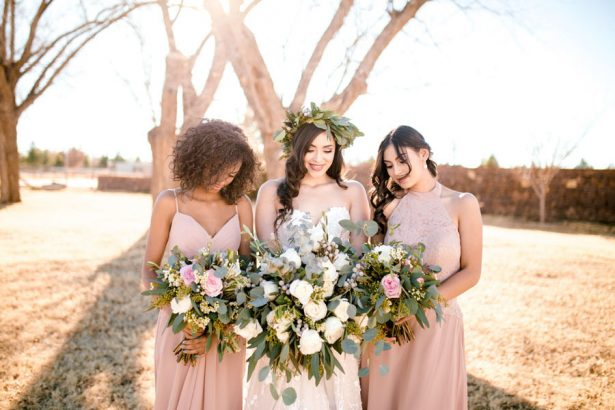 Organic Bridal Party - Sparrow and Gold Photography