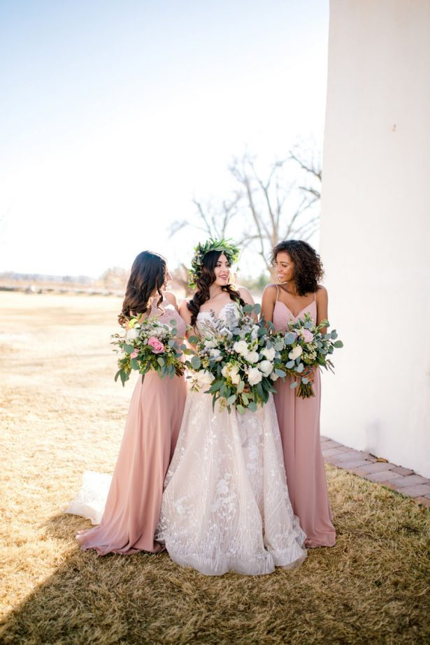 Organic Elegance Bridal Party - Sparrow and Gold Photography