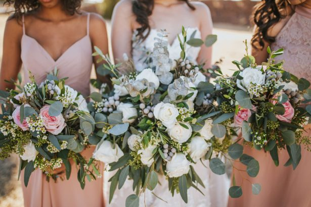 Organic Elegance Wedding Bouquets- Sparrow and Gold Photography