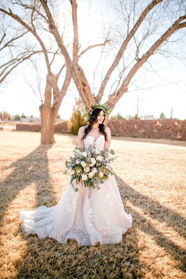 Organic Bridal look - Sparrow and Gold Photography