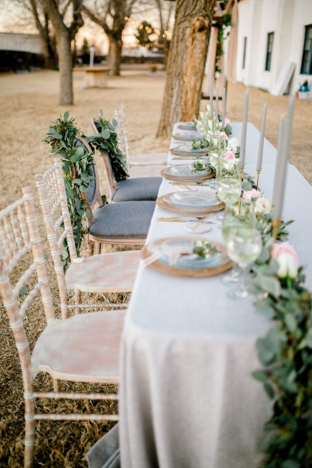 Organic Wedding tablescape - Sparrow and Gold Photography
