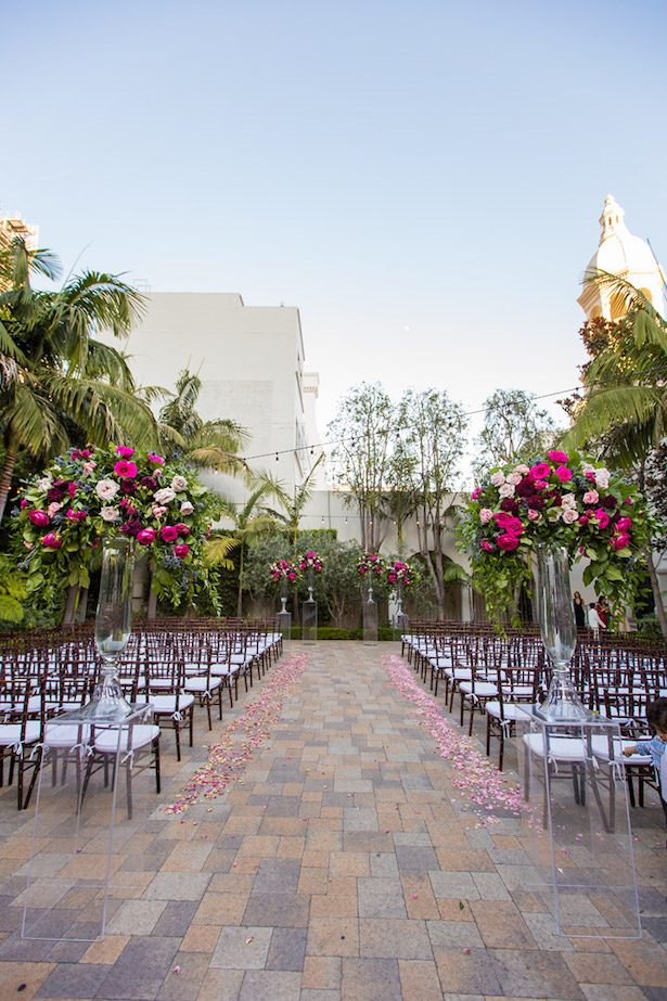 Outdoor Wedding Ceremony Los Angeles - Embrace Life Photography