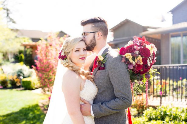 Pink and red whimsical wedding - Eva Rieb Photography