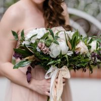 Romantic bridesmaid bouquet - KVC Photography