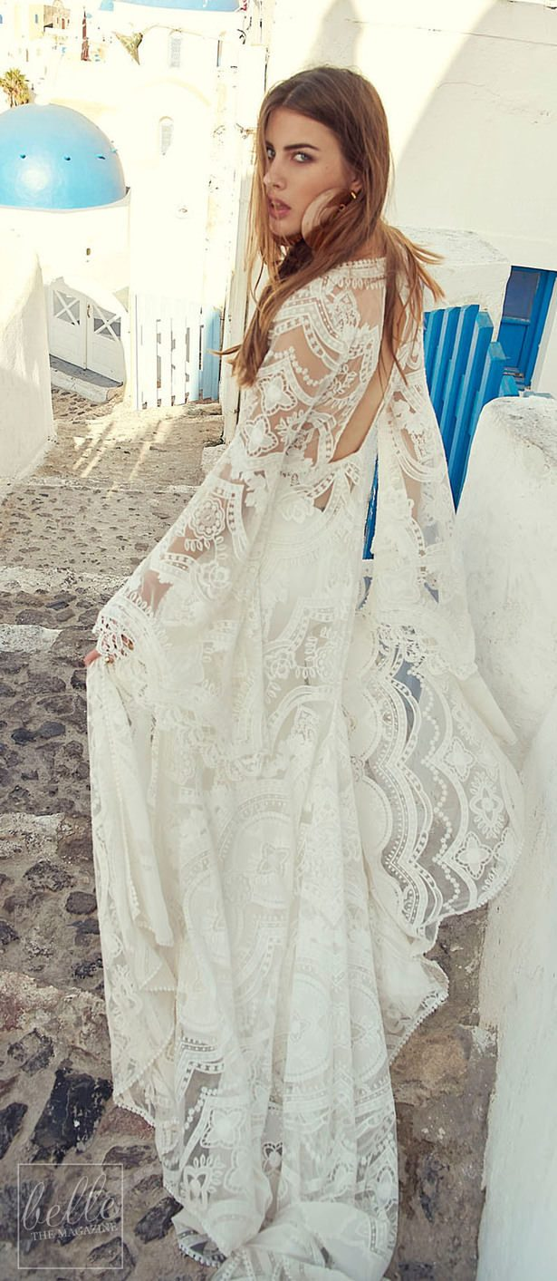 Rustic Wedding Dress by Rue de Seine