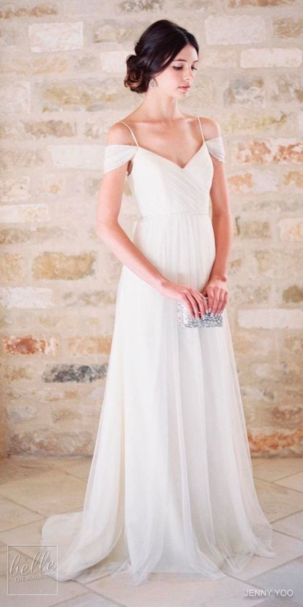 Simple Wedding Dress by Jenny Yoo