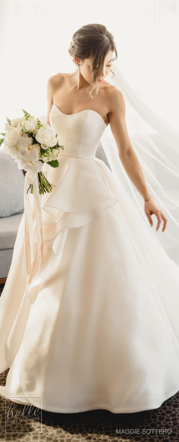 Simple Wedding Dress by Maggie Sottero