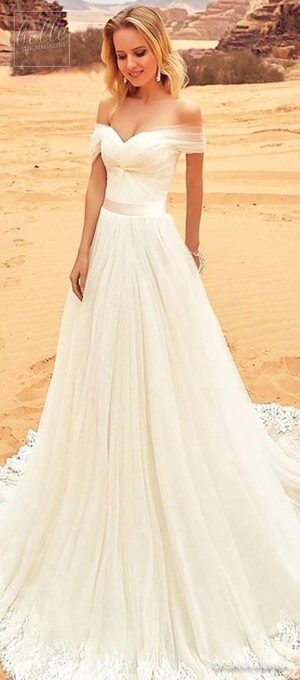 20 Simple + Rustic Wedding Dresses - Belle The Magazine
