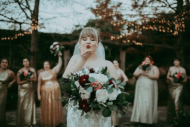 This Burgundy and Gold Wedding Gives Us Great-Gatsby Vibes