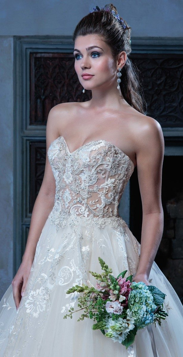 Wedding Dress - Amaré Couture from Casablanca Bridal - C127 Angelique
