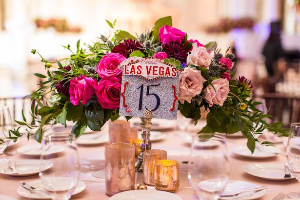 Wedding Table Number - Embrace Life Photography