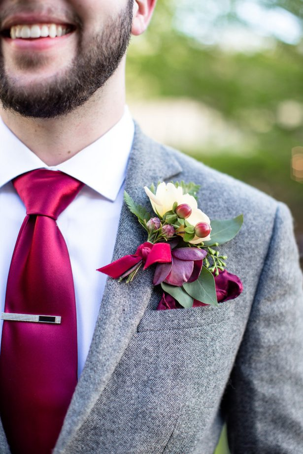 Wedding boutonniere - Eva Rieb Photography