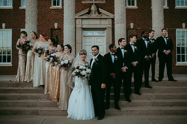 Wedding party photo idea - Ashley Layden Photography