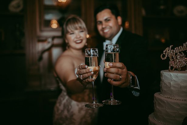 Wedding toast- Ashley Layden Photography