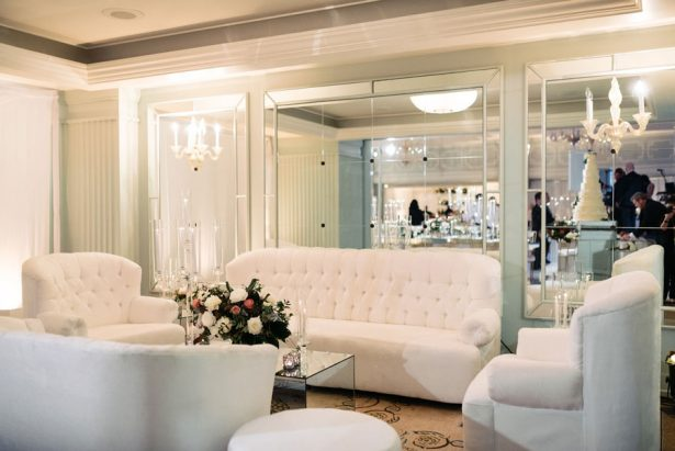 White Wedding Lounge Furniture - ​Jana Williams Photography​