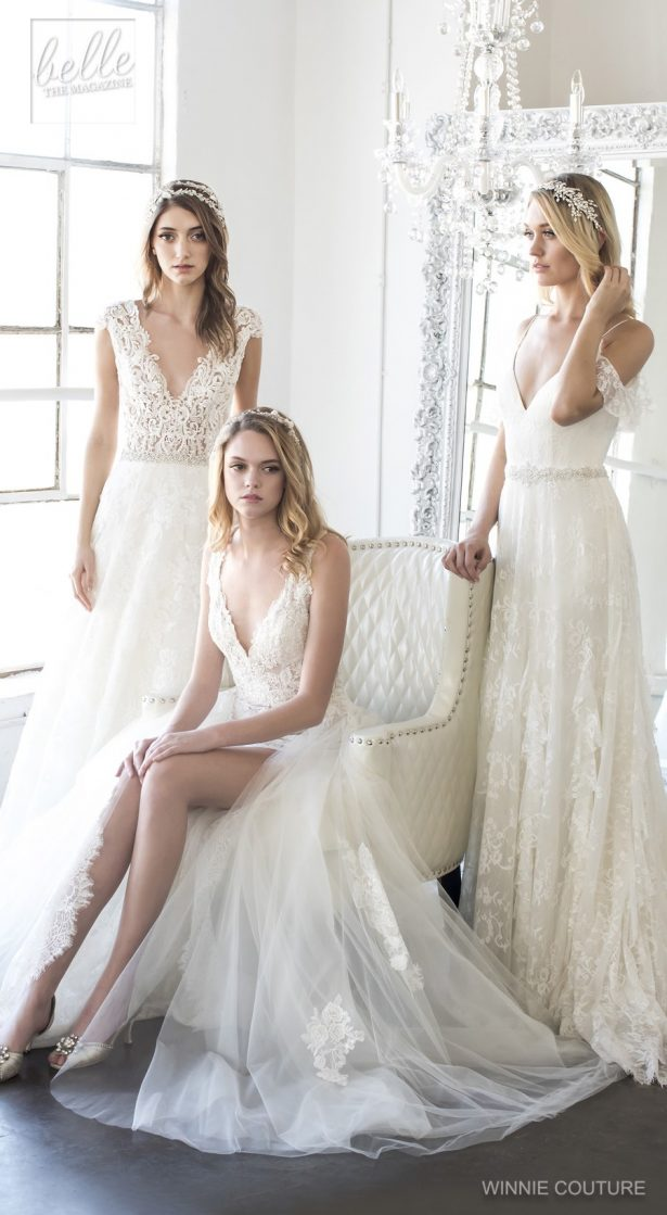 Winnie Couture Wedding Dress Collection Fall 2018