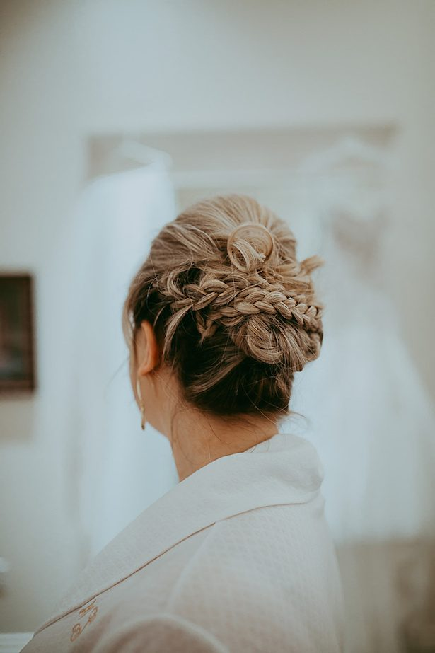 wedding updo - Ashley Layden Photography