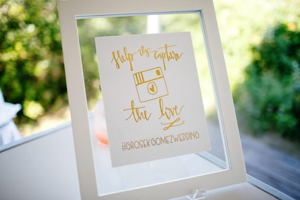 Metallic Wedding Stationary - Cape Cod Celebrations - Channing Johnson Photography - Dulce Press