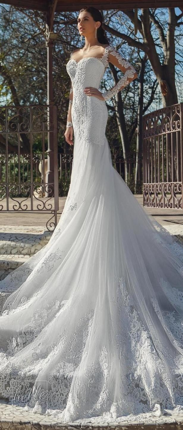 Ricca Sposa Wedding Dress Collection 2018 - Hola Barcelona
