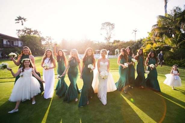 Sophisticated bridal party- Photography: Callaway Gable