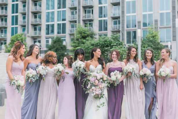 Ultra Violet Bridesmaid Dresses - Casey Hendrickson Photography