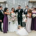 Ultra Viole Modern Wedding Party - Casey Hendrickson Photography