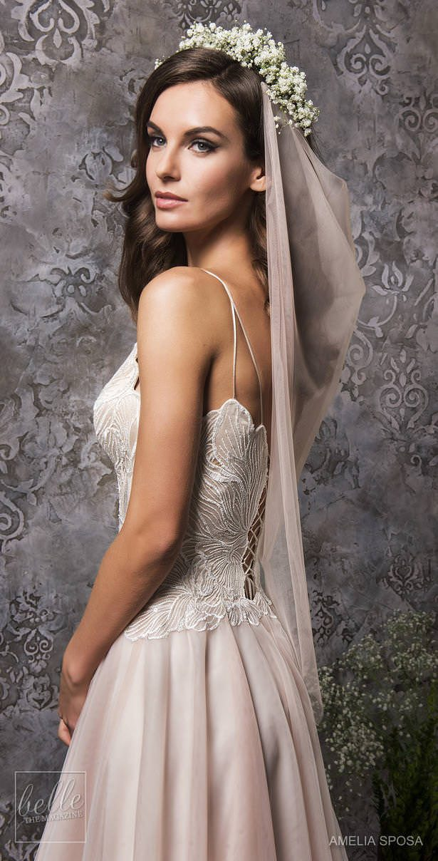 Amelia Sposa Wedding Dress Collection Fall 2018