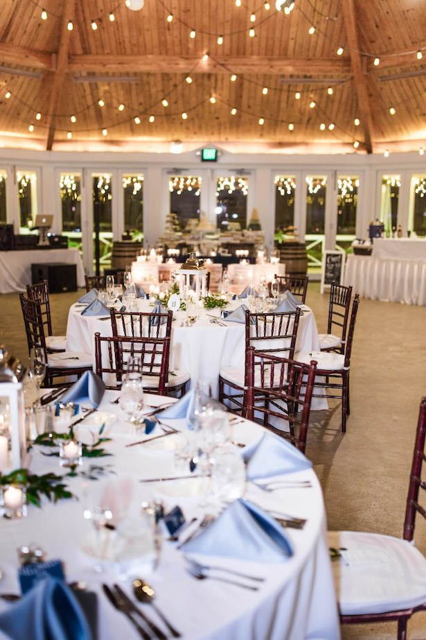 Blue Wedding Reception - Lieb Photographic
