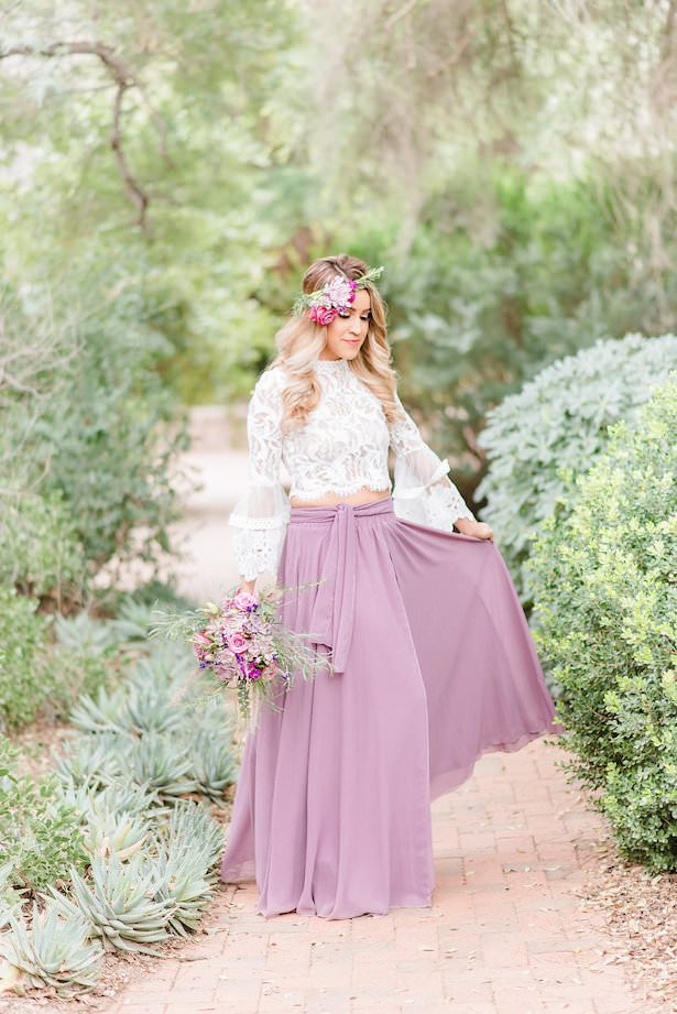 Boho bridesmaid dress - Jade Min Photography LLC