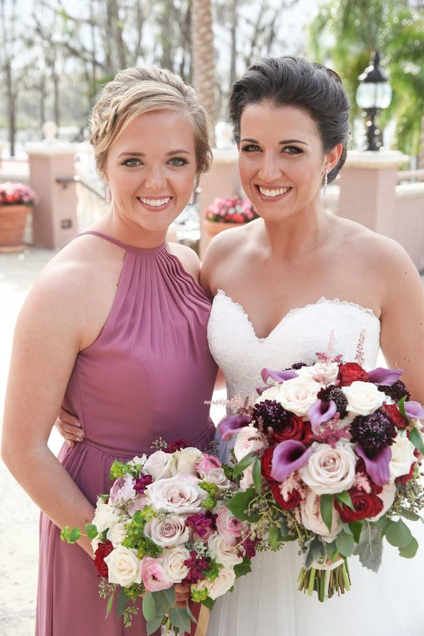 Bride and maid of honor picture - Tab McCausland Photography