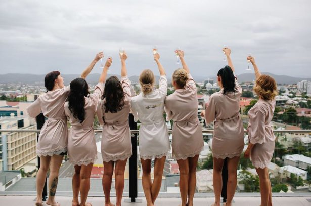 Bridesmaid robes - Photography: Prue Franzman