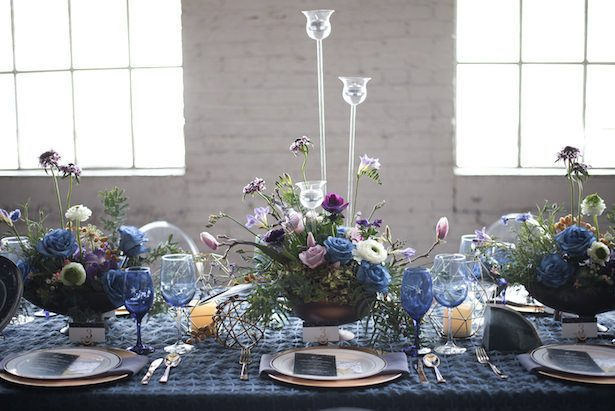 Celestial Wedding Inspiration With Dreamy Paper Details - Vanessa Anne Photography